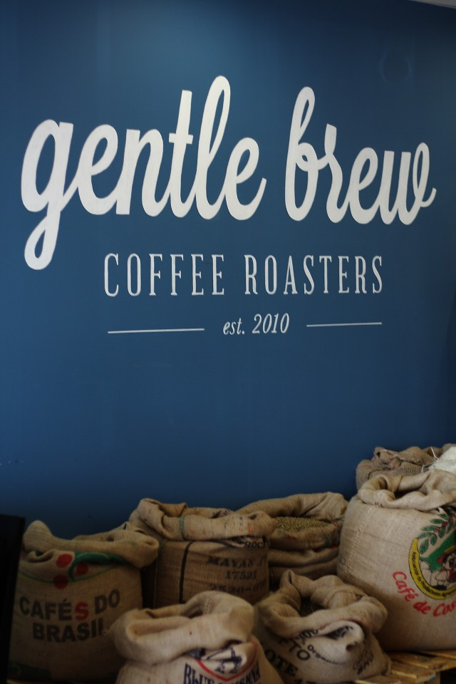 Gentle Brew Coffee Roasters. Photo Credit: Amanda Salvucci